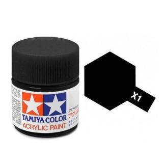 Tamiya Color X-1 Black gloss 23ml