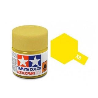 Tamiya Color X-8 Lemon Yellow gloss 10ml