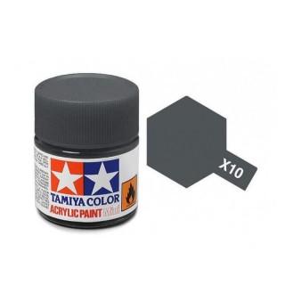 Tamiya Color X-10 Gun Metall gloss 10ml