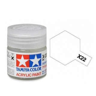 Tamiya Color X-22 Clear gloss 10ml
