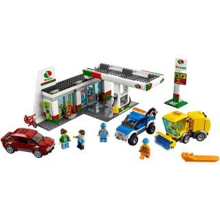 LEGO City Město - Benzínová stanice