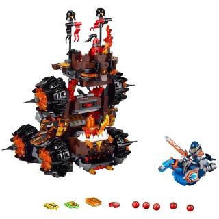 LEGO Nexo Knights - Obléhací stroj zkázy generála Magmara!