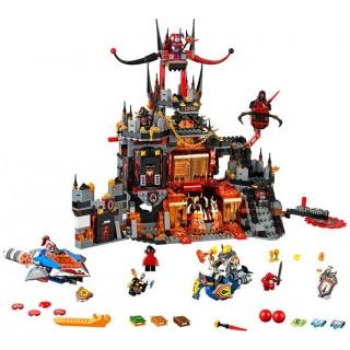 LEGO Nexo Knights - Jestrovo sopečné doupě