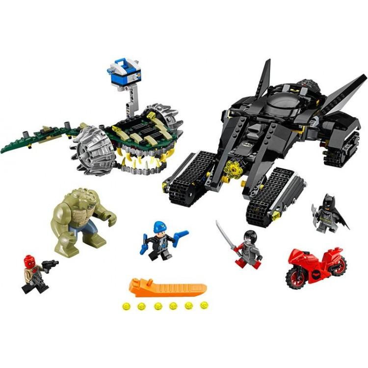 LEGO Super Heroes - Batman™: Killer Croc™ Zničení ve stokách