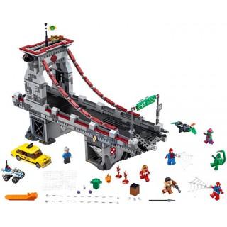 LEGO Super Heroes - Spiderman: Úžasný souboj pavoučích válečníků na mostě
