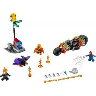 LEGO Super Heroes - Spiderman: Ghost Rider vstupuje do týmu