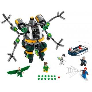 LEGO Super Heroes - Spiderman: Past z chapadel doktora Ocka