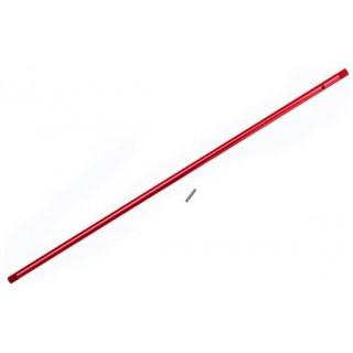 4-Tec 2.0: Hliníková centrální hrídel červená