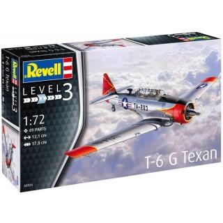 Plastic ModelKit letadlo 03924 - T-6 G Texan (1:72)