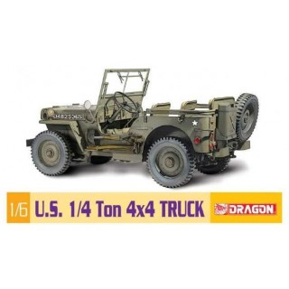 Model Kit military 75020 - 1/6 1/4-Ton 4x4 Truck (1:6)