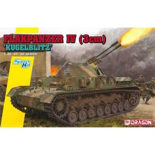 Model Kit tank 6889 - Flakpanzer IV (3cm) 'Kügelblitz' (Smart Kit) (1:35)