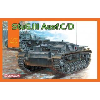 Model Kit tank 7553 - StuG.III Ausf.C/D (1:72)
