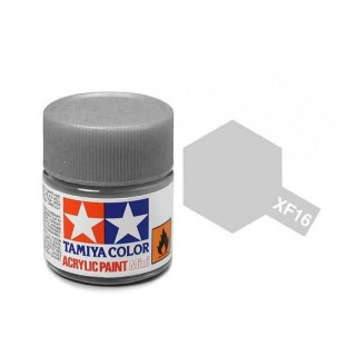 Tamiya Color XF-16 Flat Aluminium 10ml