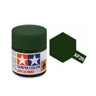 Tamiya Color XF-26 Flat Deep Green 10ml