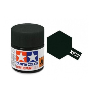 Tamiya Color XF-27 Flat Black Green 10ml