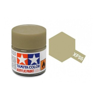Tamiya Color XF-55 Flat Deck Tan (Light Brown) 10ml