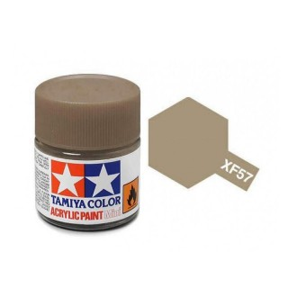 Tamiya Color XF-57 Flat Buff (Yellow-Brown) 10ml
