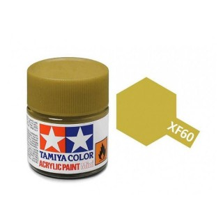 Tamiya Color XF-60 Flat Dark Yellow 10ml