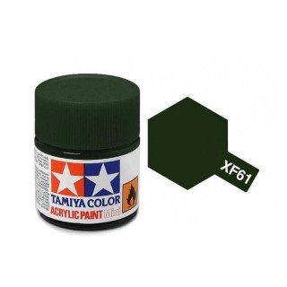 Tamiya Color XF-61 Flat Dark Green 10ml