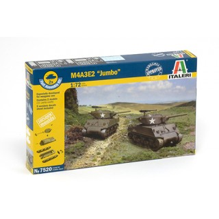 "Fast Assembly tanky 7520 - M4A3E2 ""JUMBO"" (1:72)"