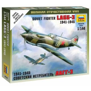 Wargames (WWII) letadlo 6118 - Soviet Fighter LaGG-3 (1:144)