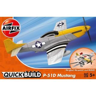 Quick Build letadlo J6016 - P-51D Mustang - nová forma