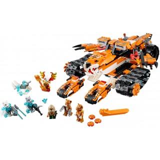LEGO Chima - Mobilní velitelství tygrů