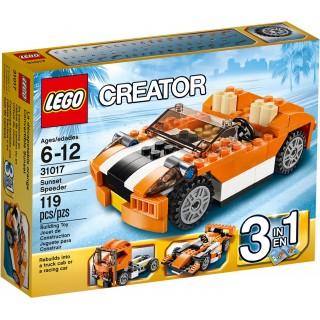 LEGO Creator - Oranžový závoďák