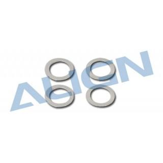 Vymezovací podložky pro hlavní hřídel pro T REX 550E