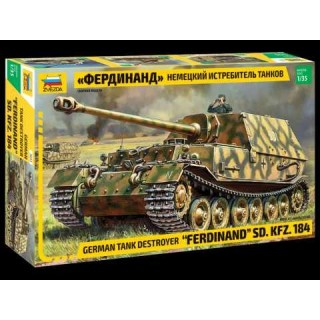 "Model Kit tank 3653 - Sd.Kfz.184 """"Ferdinand"""" (1:35)"