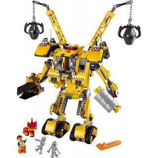 LEGO Movies - Emmetův sestrojený robot