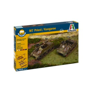 Fast Assembly military 7513 - M7 PRIEST / KANGAROO (1:72)