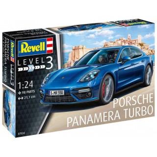 Plastic ModelKit auto 07034 - Porsche Panamera Turbo (1:24)