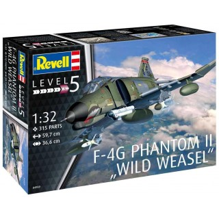 Plastic ModelKit letadlo 04959 - F-4G Phantom II Wild Weasel (1:32)