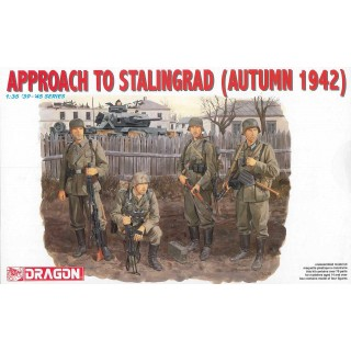 Model Kit figurky 6122 - APPROACH TO STALINGRAD (AUTUMN 1942) (1:35)