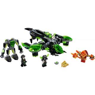 LEGO Nexo Knights - Běsnící bombardér