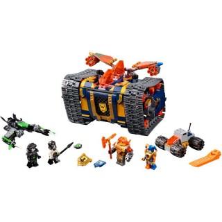 LEGO Nexo Knights - Axlův arzenál na kolečkách