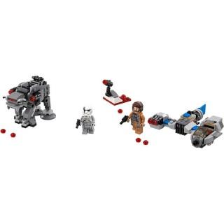 LEGO Star Wars - Snežný spídr a kráčející kolos Prvního řádu