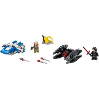 LEGO Star Wars - Stíhačka A-Wing vs. mikrostíhačka TIE Silencer