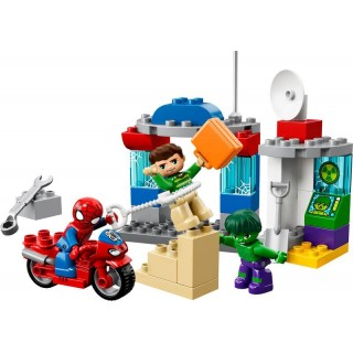 LEGO DUPLO - Dobrodružství Spider-Mana a Hulka