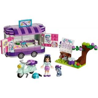 LEGO Friends - Emma a umělecký stojan