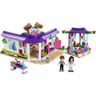 LEGO Friends - Emma a umělecká kavárna