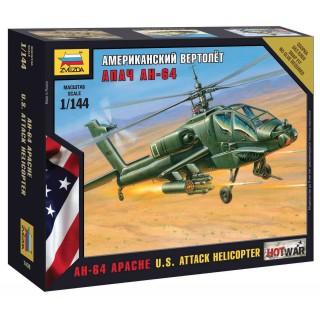 Wargames (HW) vrtulník 7408 - AH-64 Apache Helicopter (1:144)