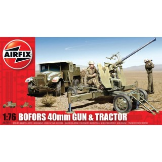 Classic Kit military A02314 - Bofors 40mm Gun and Tractor (1:76)