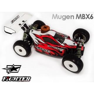 Fighter karoserie - MUGEN MBX-6 Bitty Style Design lakování