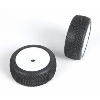 V-MAX (super soft směs) Off-Road 1:8 Buggy gumy nalep. na bílých disk. (2ks.)