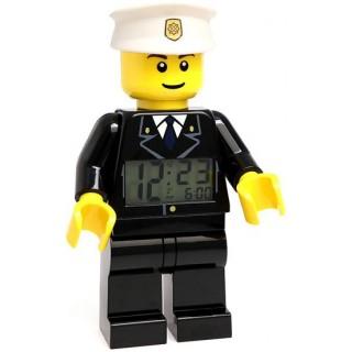 LEGO City hodiny s budíkem Policeman