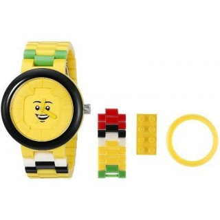 LEGO hodinky pro dospělé Happiness Yellow