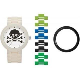 LEGO hodinky pro dospělé Skull White