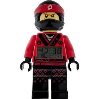 LEGO Ninjago Movie hodiny s budíkem Kai